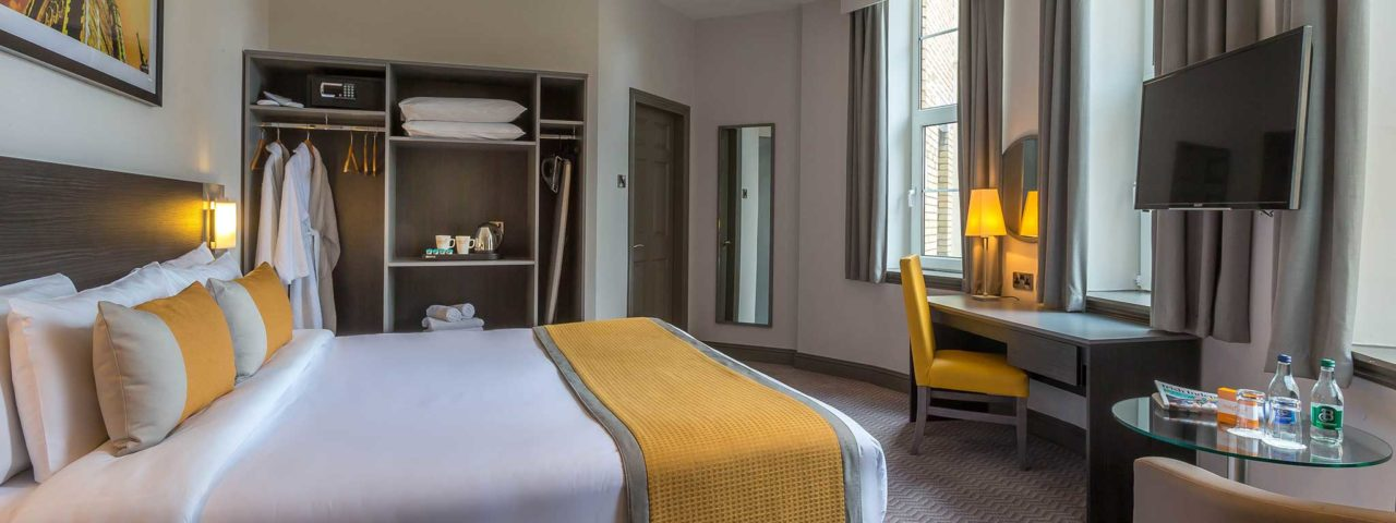 Spacious Hotel Rooms in Cork City
