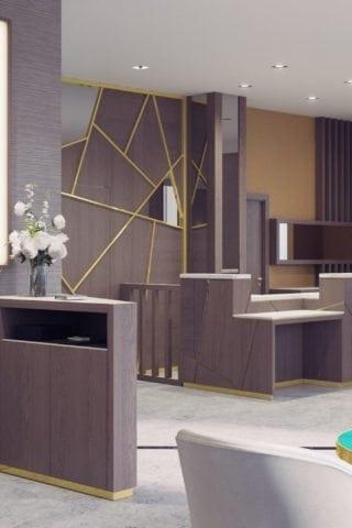 Maldron Hotel Kevin Street Reception Area