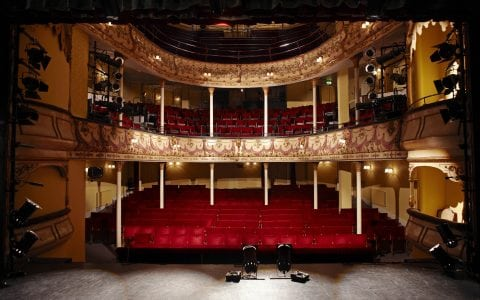Inside Olympia theatre