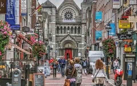 Street in Dublin city