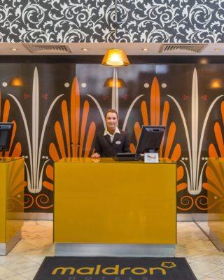 Parnell Square Hotel Reception