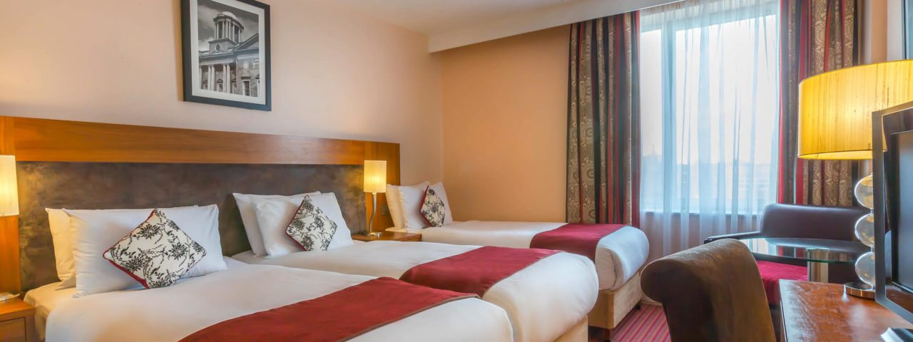 Dublin City Centre Hotel Triple Room