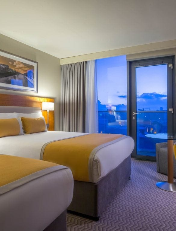 Maldron Hotel Smithfield Dublin Twin Rooms