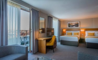 Spacious Junior Suite at Maldron Hotel Smithfield