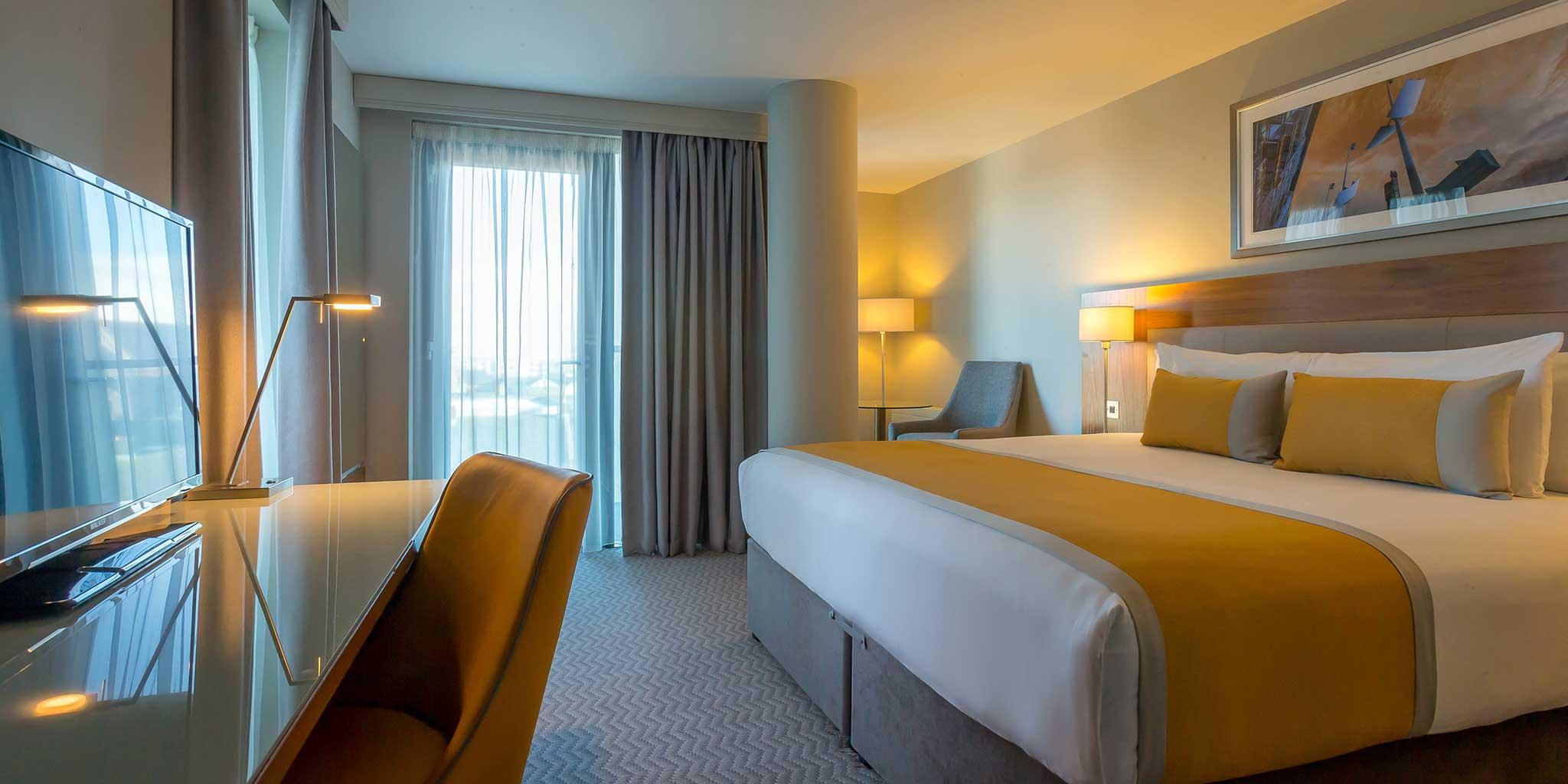 Comfy Double Room at Maldron Hotel Smithfield