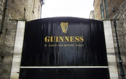 Gate at Guinness Brewery