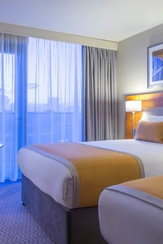 Comfortable Twin Rooms at Maldron Hotel Smithfield