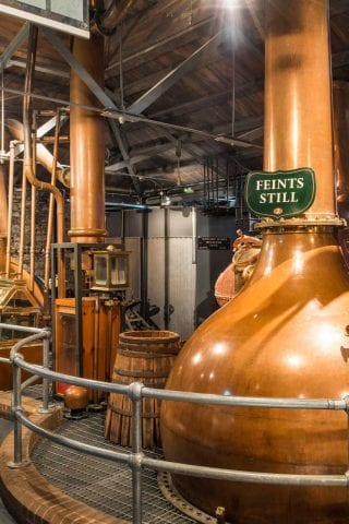 Inside Jameson Distillery