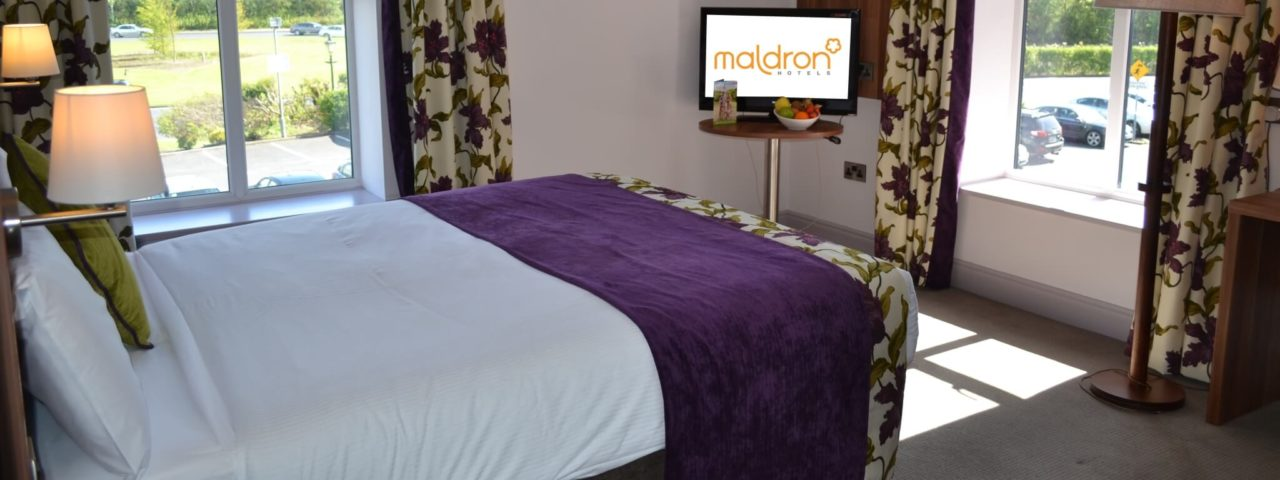 Spacious Double Room in Galway Hotel