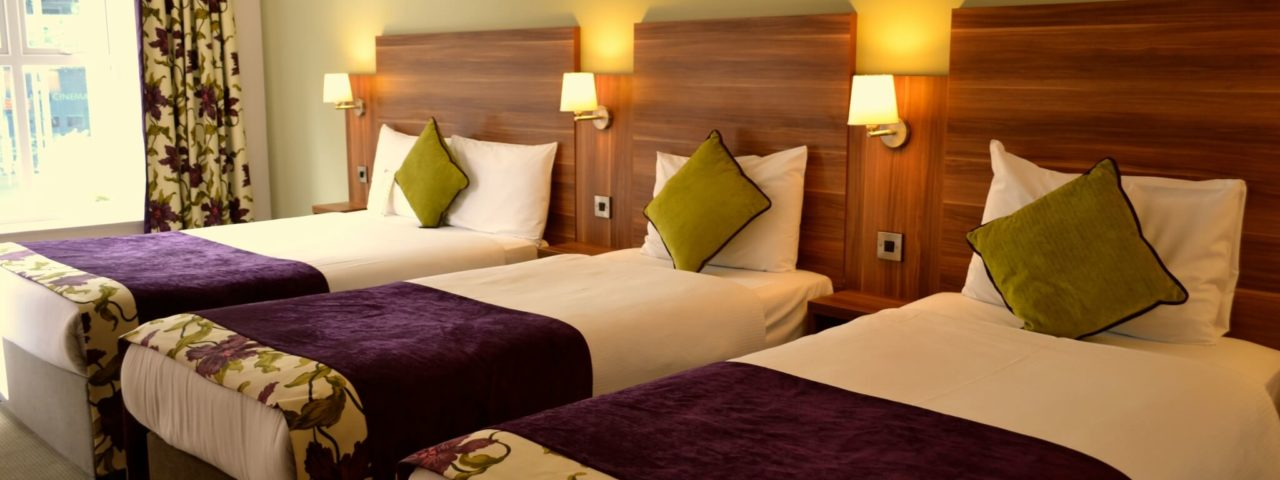triple Hotel Room Accommodation in Galway