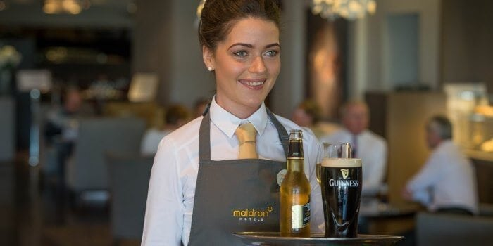 Friendly staff at Maldron Hotel Oranmore Galway