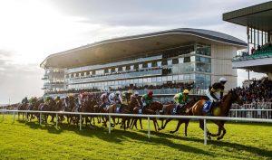 Racing at Ballybrit Racecourse