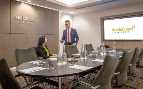 Meeting room in Maldron Hotel Sandy Road