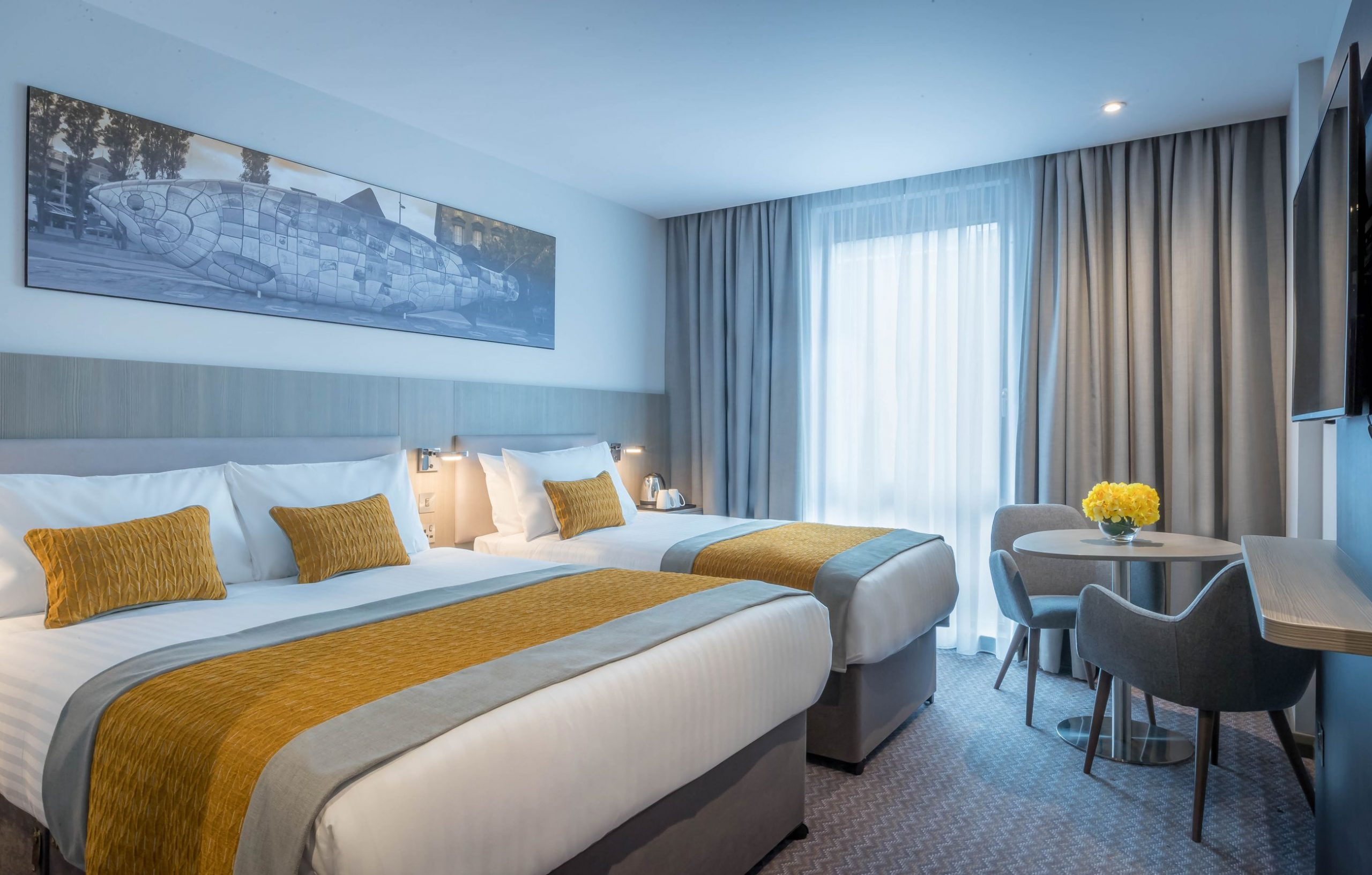 Deluxe Rooms - Hotel Accommodation Glasgow | Maldron Hotel