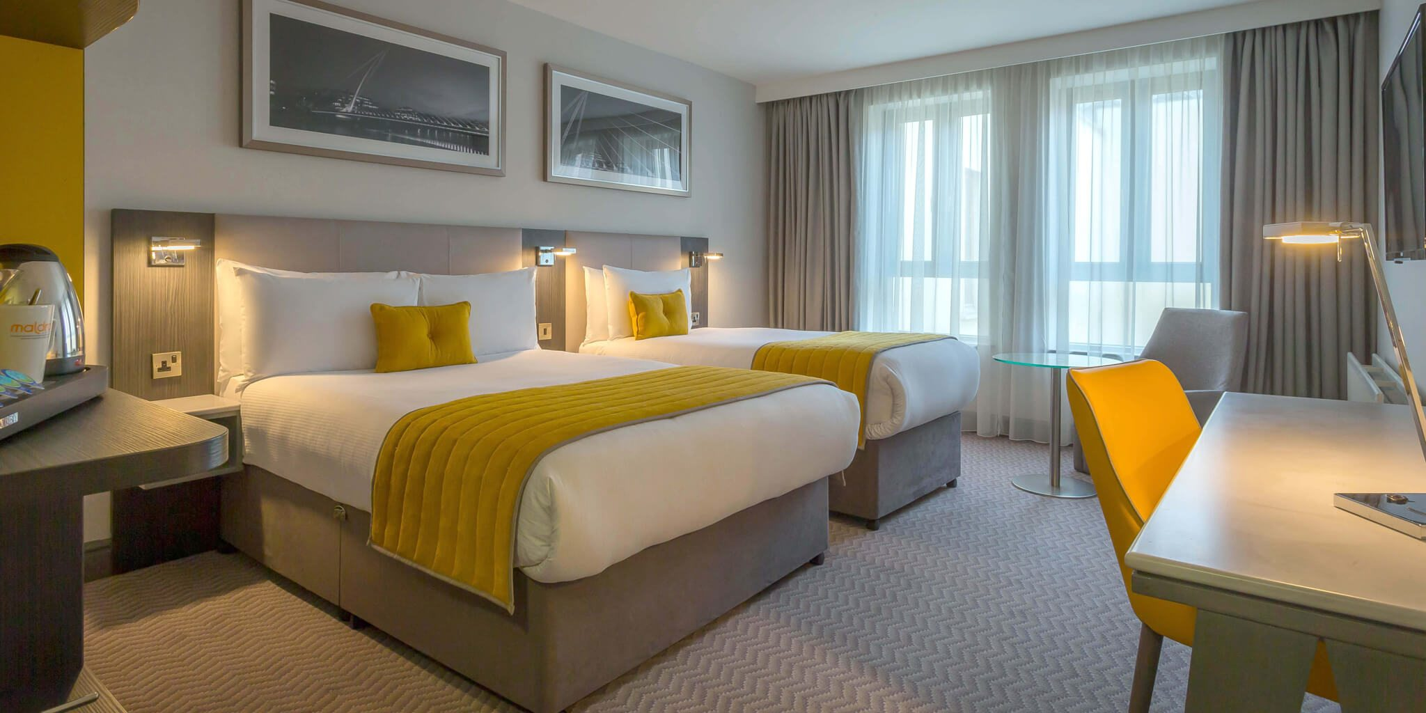Maldron Hotel Twin Room Accommodation Ireland