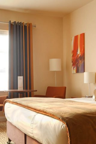 Double room in Limerick city hotel