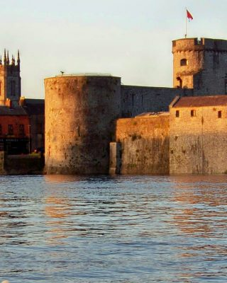 Limerick City Castle Walls - Maldron Hotel Limerick