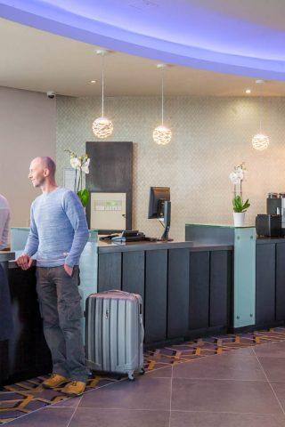 Reception of the Maldron Hotel in Limerick