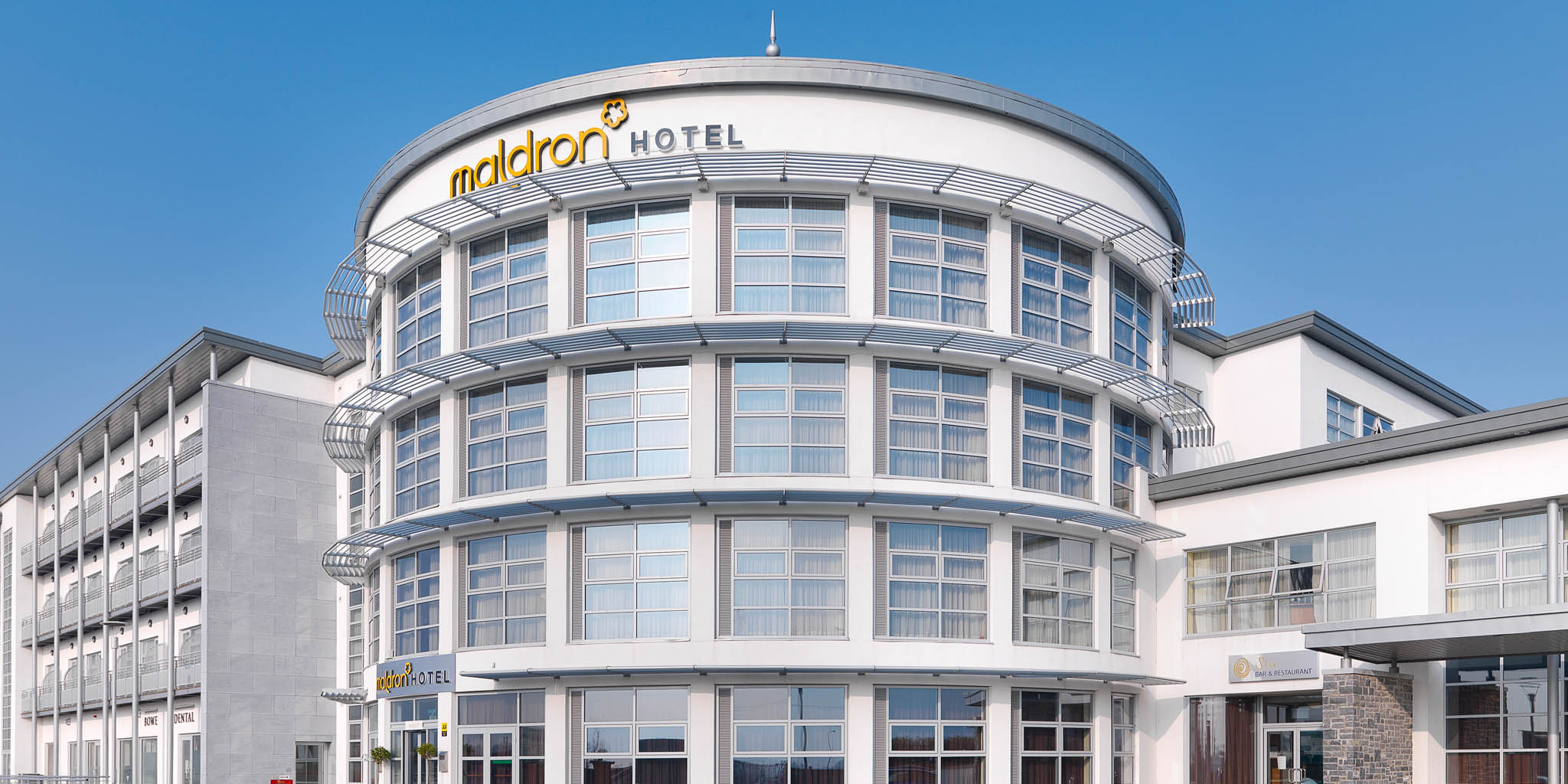 The front of the Maldron Hotel in Limerick