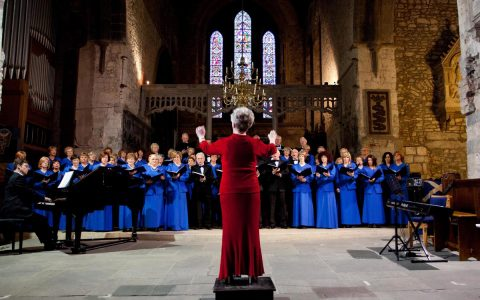 The inaugural Limerick Sings International Choral Festival opening night at St. Mary's Cathedral