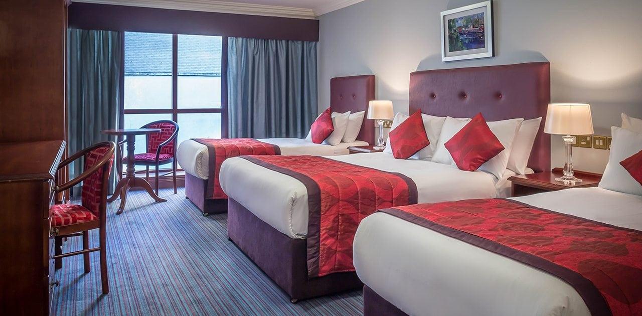 Belvedere-Hotel-Dublin-spacious-Quadruple-Room