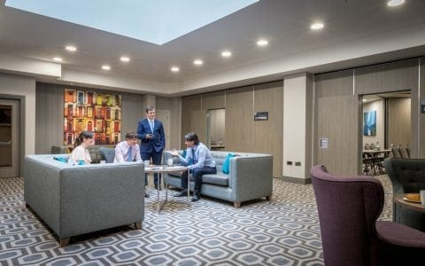 Maldron Hotel Pearse Street Dublin meeting breakout area