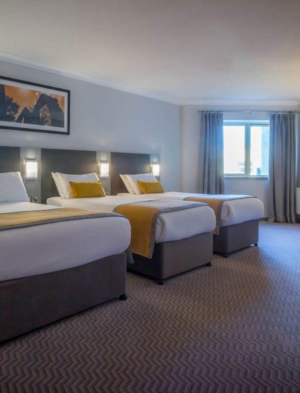 Maldron Hotel Wexford Family Room