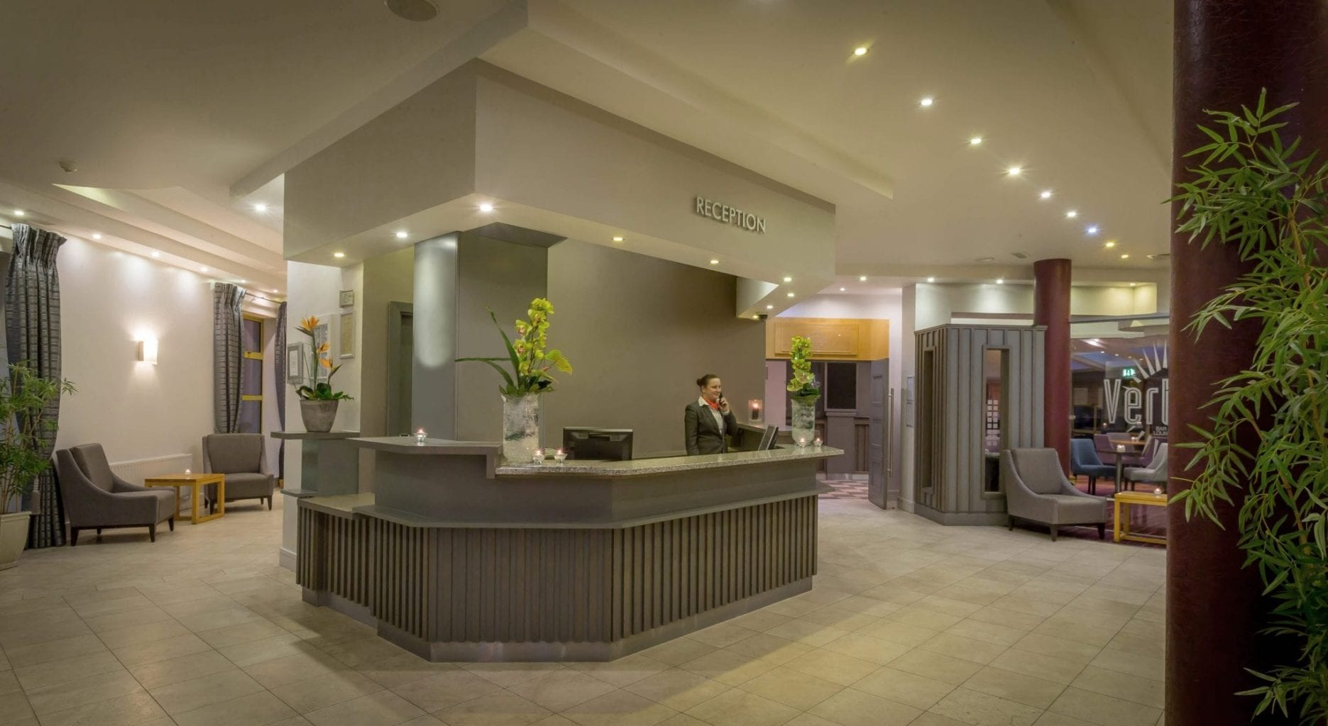 Maldron Hotel Wexford reception