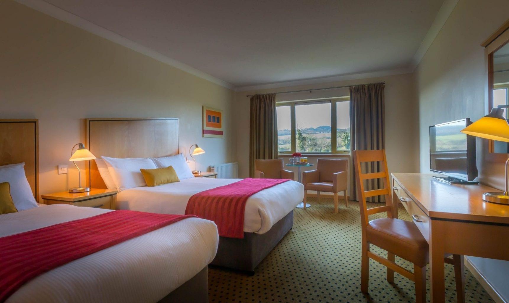 Maldron Hotel Wexford spacious Twin room