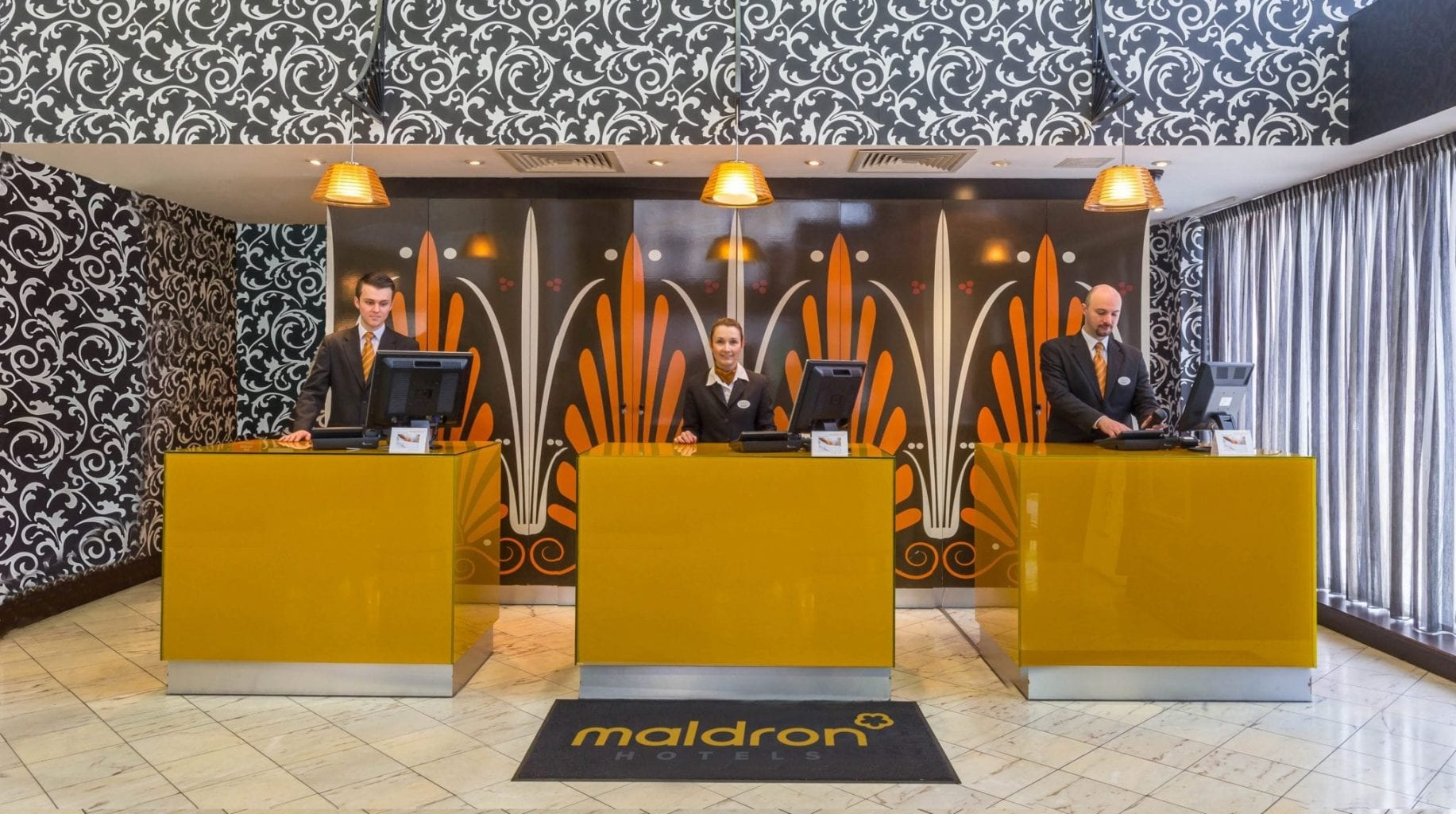Friendly reception team look forward to welcoming you to Maldron Hotel Parnell Square Dublin