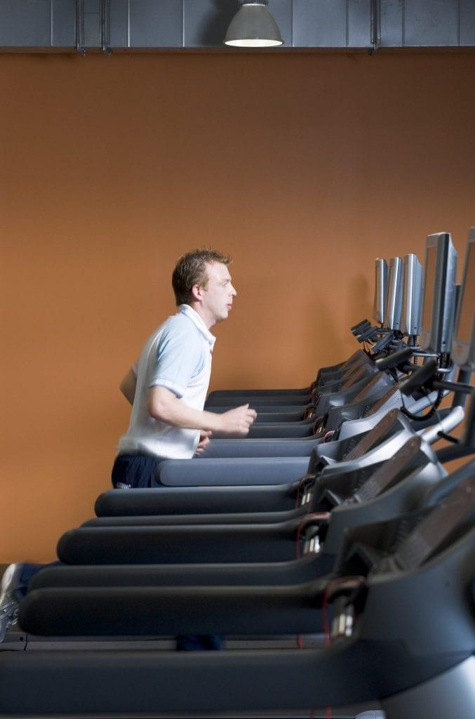 Guest exercising in Club Vitae Maldron Hotel Portlaoise gym