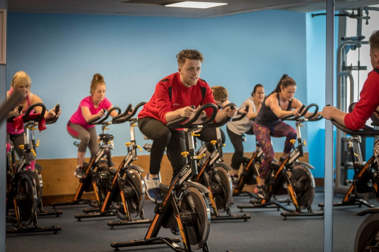 Keep up your workout routine in Club Vitae gym at Maldron Hotel Tallaght