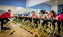 Spin class in Club Vitae at Maldron Hotel Cork