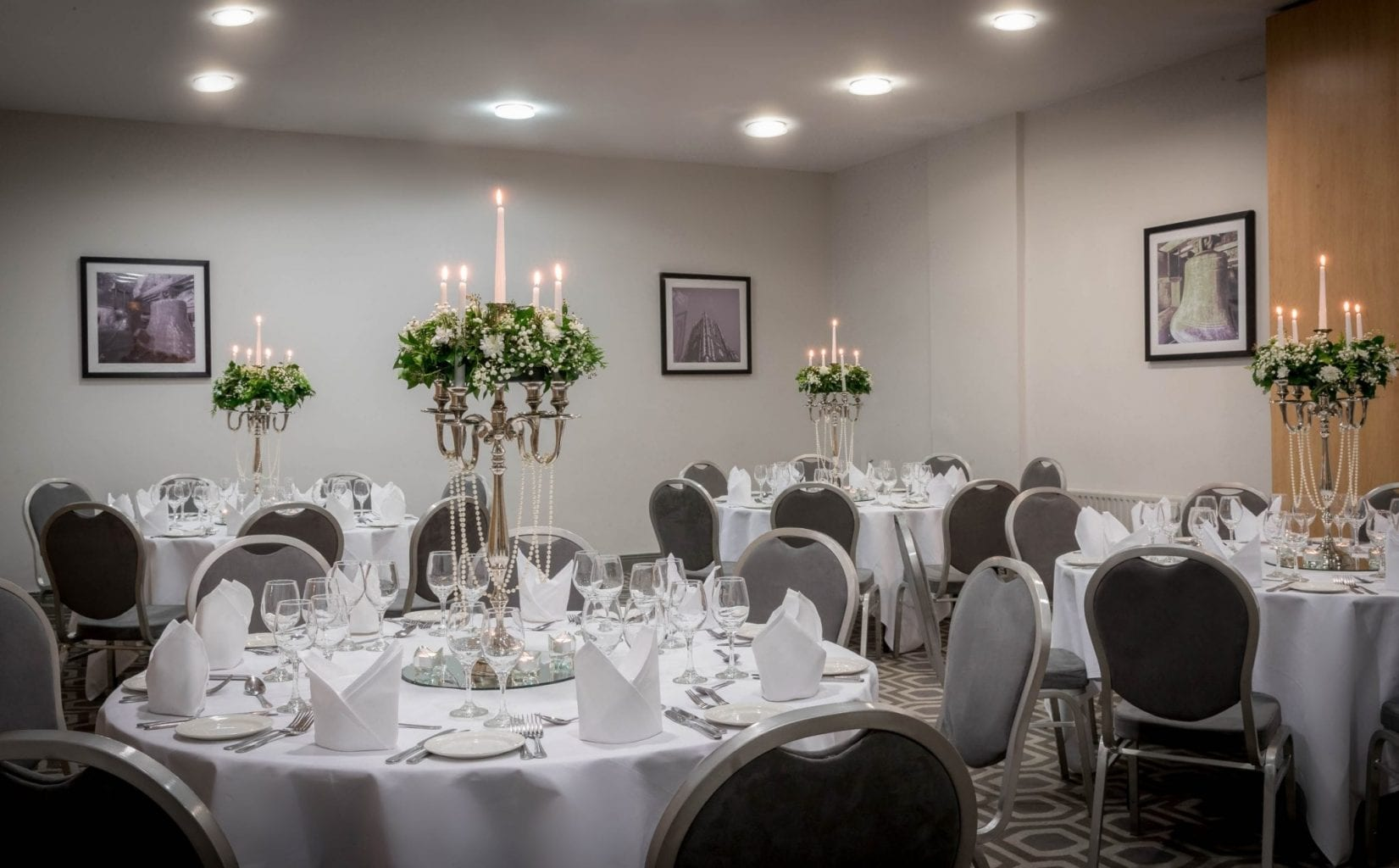 Weddings and gala dinners at Maldron Hotel Cork