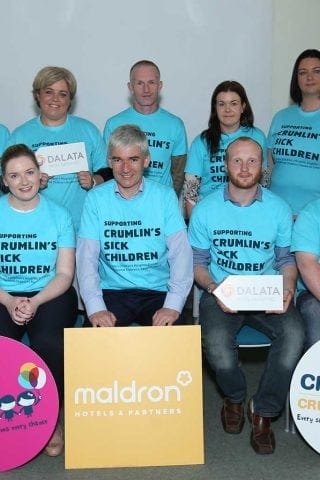 Maldron Hotels Supporting CMRF Crumlin