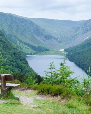 A view of Glendalough in Wicklow